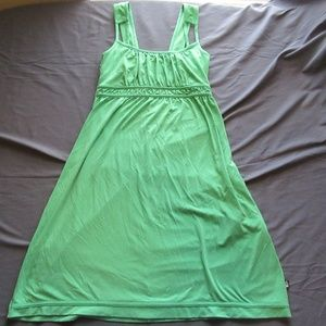 Womens The North Face Dress Size S Green